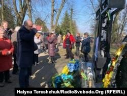 Вшанування жертв трагедії у Сагрині