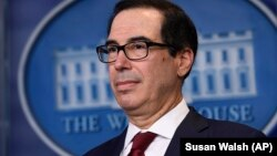 U.S. Treasury Secretary Steven Mnuchin says the system will allow crucial goods to be delivered to Iran.