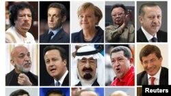 Liderët botërorë që përmenden në dokumentet e WikiLeaks-it.