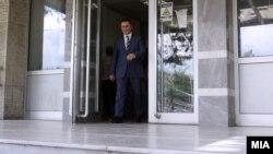 Архивска фотографија- лидерот на ВМРО-ДПМНЕ Никола Груевски на распит во Основен Суд 1