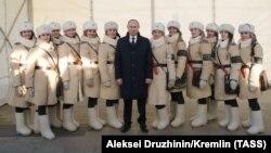 پوتین در جریان مراسم گرامیداشت نبرد استالینگراد