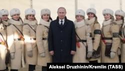 Путин на открытии исторического музея в Волгограде, 2018 год