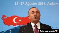 Türkiýäniň daşary işler ministri Mewlýut Çawusoglu