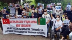 Türkmenistanyň iki raýaty Stambuldaky türkmen konsullygynyň golaýynda tussag edildi