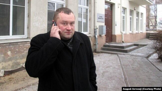 Алесь Адамковіч, архіўнае фота