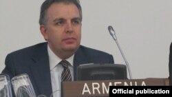 Заместитель министра иностранных дел Армении Карен Назарян (архив)