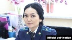 Наргиза Куватова.