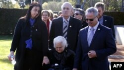 Траурная церемония в память о жертвах МН-17