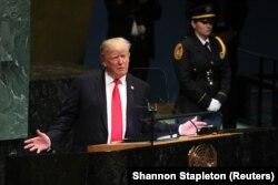 Выступление Дональда Трампа на Генассамблее ООН