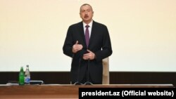 Ilham Aliyev attended conference dedicated to results of third year implementation of the State Program on socio-economic development in 2014-2018