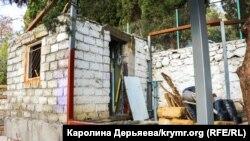 Застройка исторического центра крымского поселка Гурзуф, 2 декабря 2018 года