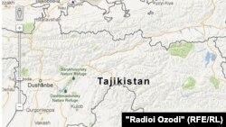 Tajikistan's corruption map