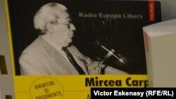 Volumul de amintiri al lui Mircea Carp apărut la editura Polirom, la Tîrgul Internațional al Cărții de la Frankfurt