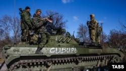 Donetskdə Rusiyameylli döyüşçülər - 30 oktyabr 2014