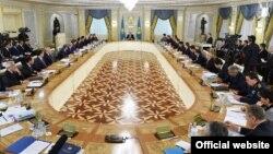 Қазақстан үкіметінің жиыны Астана (Көрнекі сурет).
