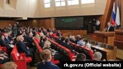 Заседание российского парламента Крыма, архивное фото