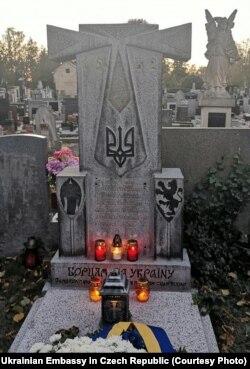 Українські могили в Чехії. Автор проекту Оксана Лятуринська