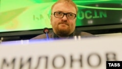 На снимке: Виталий Милонов