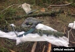 В Харьковской области найден тайник с зенитно-ракетными комплексами «Игла».