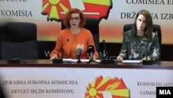 Прес-конференција на Државната изборна комисија (ДИК)