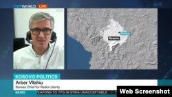 RFE/RL Pristina bureau chief Arber Vllahiu, interviewed on TRT World about Kosovo no-confidence vote (May 10, 2017).