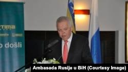 UO tvrdi da odluka nije donesena zbog ambasadora lično, već zato što bi predstavljao državu čiji zvanični stavovi počivaju na negiranju genocida (Foto: ambasador Ivancov)