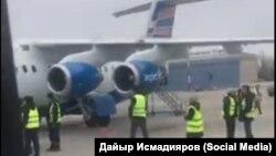 Самолет RJ-85, совершивший аварийную посадку.