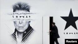 Стена торгового центра в Брюсселе. 11 января 2016 года
