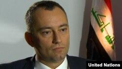 نيكولاي ملادينوف، الممثل الخاص لأمين عام الأمم المتحدة في العراق