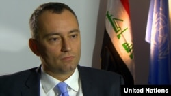 Special Representative for Iraq and Head of the United Nations Assistance Mission for Iraq (UNAMI) Nikolay Mladenov.