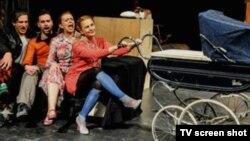 "Scena iz predstave ""Brod za lutke"""