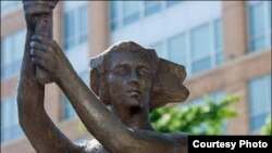 Памятник жертвам коммунизма в Вашингтоне