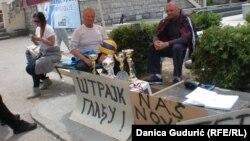 Micanović je štrajk glađu započeo je 8. maja