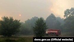 Ліквідація пожежі в Чорнобилі, 6 червня 2018 року