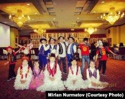 Дети кыргызстанцев, которые учатся на курсах
