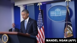 Prezident Barak Obama olaryň atdanlykda öldürilendigini tassyk etdi. 23-nji aprel, 2015.