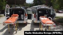 Нови возила за итна помош во Прилеп.