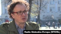 """""""Maybe [they believe] it's a guarantee -- if they stick to their ethnic groups -- that they will survive in Bosnia,"""" says psychologist Srdjan Puhalo."""