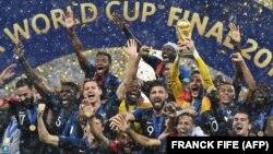 Француската фудбалска репрезентација.