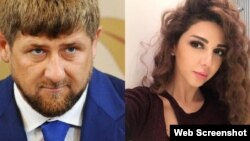 Ramzan Kadyriv tez-tez özünü şou-biznes nümayəndələri ilə əhatələyir.