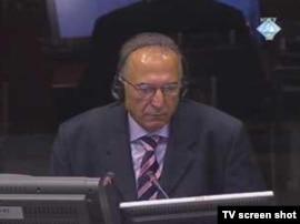 Siniša Borović svjedoči u haškom tribunalu 20. rujna 2010.