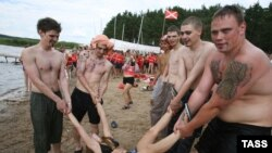 Молодежный лагерь на Селигере - кузница бойцов Общероссийского народного фронта