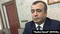 Шерали Ганджалзода, замминистра транспорта Таджикистана