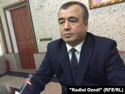 Шералӣ Ганҷалзода, вазири нақлиёти Тоҷикистон.