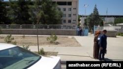 Больница имени Ниязова в Ашхабаде (архивное фото)