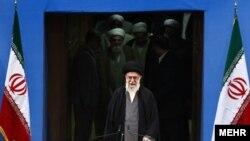 Высший руководитель Ирана аятолла Хаменеи.