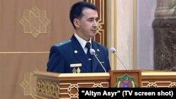 Maýor Maksat Agamyradowiç Hudaýkulyýew