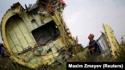 Ուկրաինա - Կործանված օդանավի բեկորները, Գրաբովո, Դոնեցկի տարածաշրջան, 22-ը հուլիսի, 2014թ․