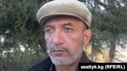 O'shlik huquq faoli Ravshan Gapirov.