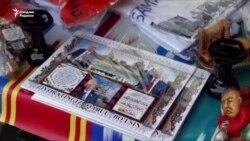 Самарқанда Ислам Каримов портреті сатылып жатыр